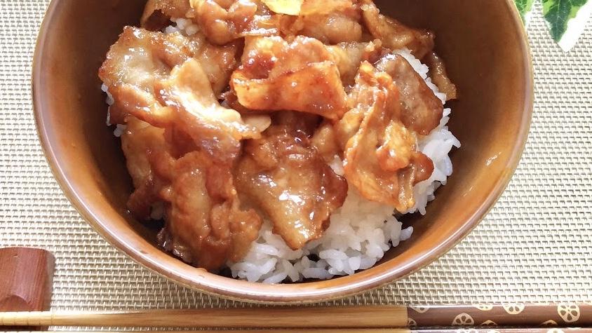 秘密のケンミンショーの豚丼レシピ