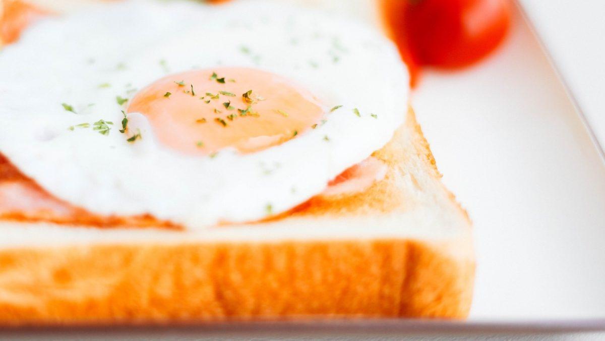 ヒルナンデスのおうちカフェのエッグインクラウド(雲トースト)のレシピ