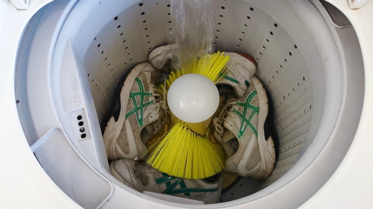 家事ヤロウの靴の洗濯機