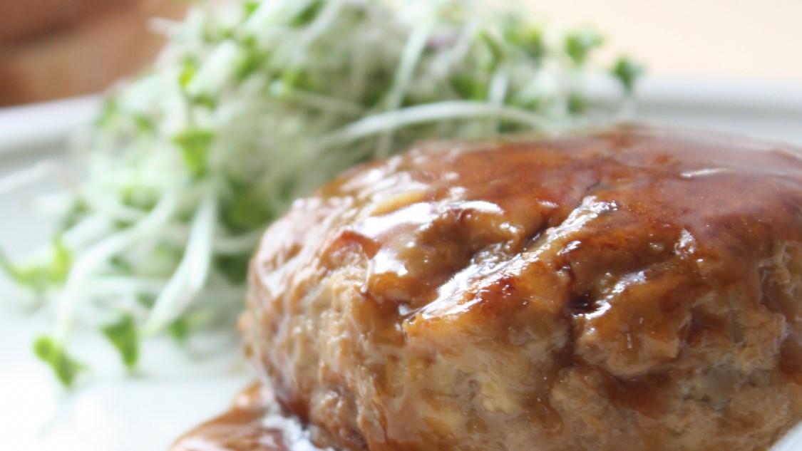 ソレダメのハンバーグの格上げレシピ