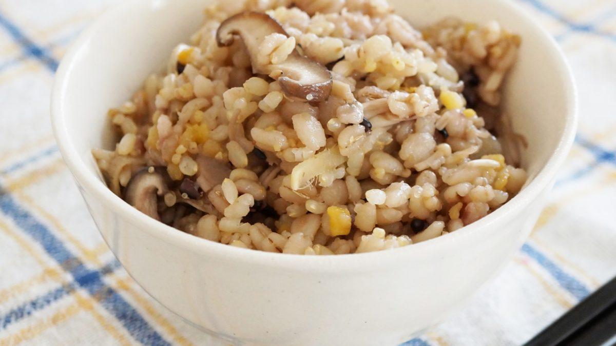 ヒルナンデスの冷凍きのこ炊き込みご飯レシピ