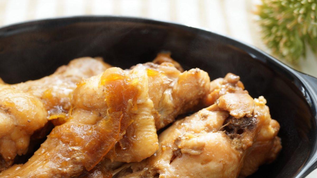 ソレダメの鶏手羽元の蒸し焼きレシピ