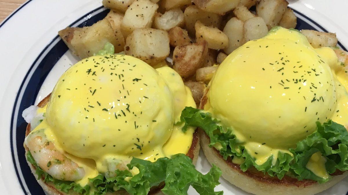 ヒルナンデスのおうちカフェのエッグベネディクトレシピ