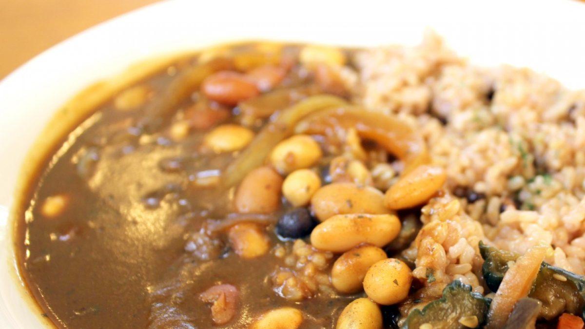 所JAPANの本ひよこ豆のスパイスカレーレシピ