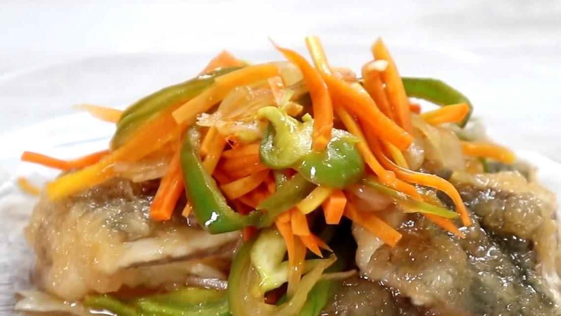 スッキリの滝沢カレンの鮭の南蛮漬けレシピ