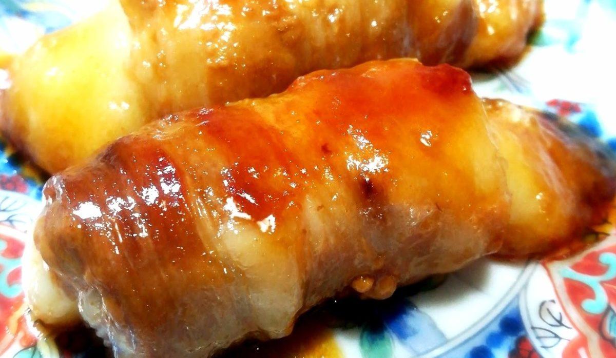 ウワサのお客さまの豚巻きポテトレシピ