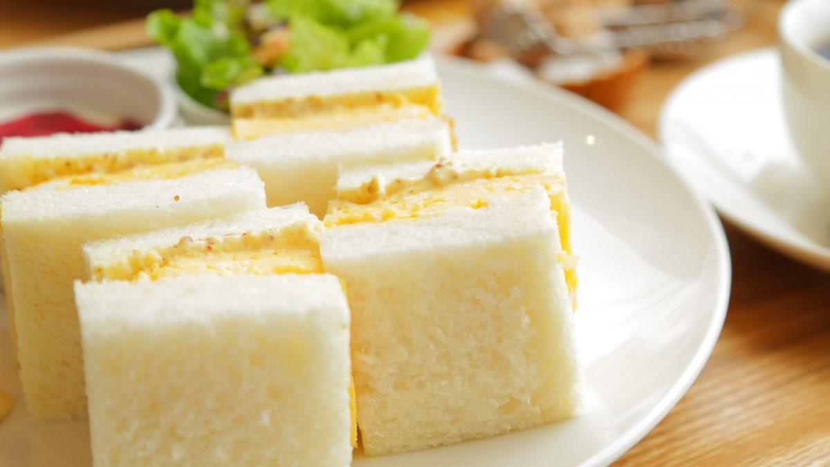 ヒルナンデスの八ピータンで卵サンドレシピ