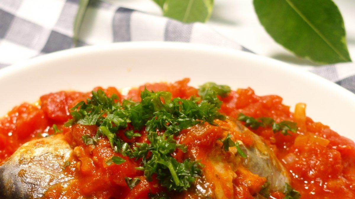 あさイチのひき肉のバターしょうゆトマト煮レシピ