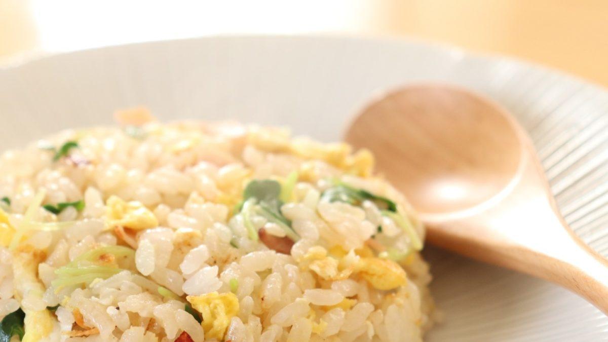 ソレダメのしっとり炒飯レシピ