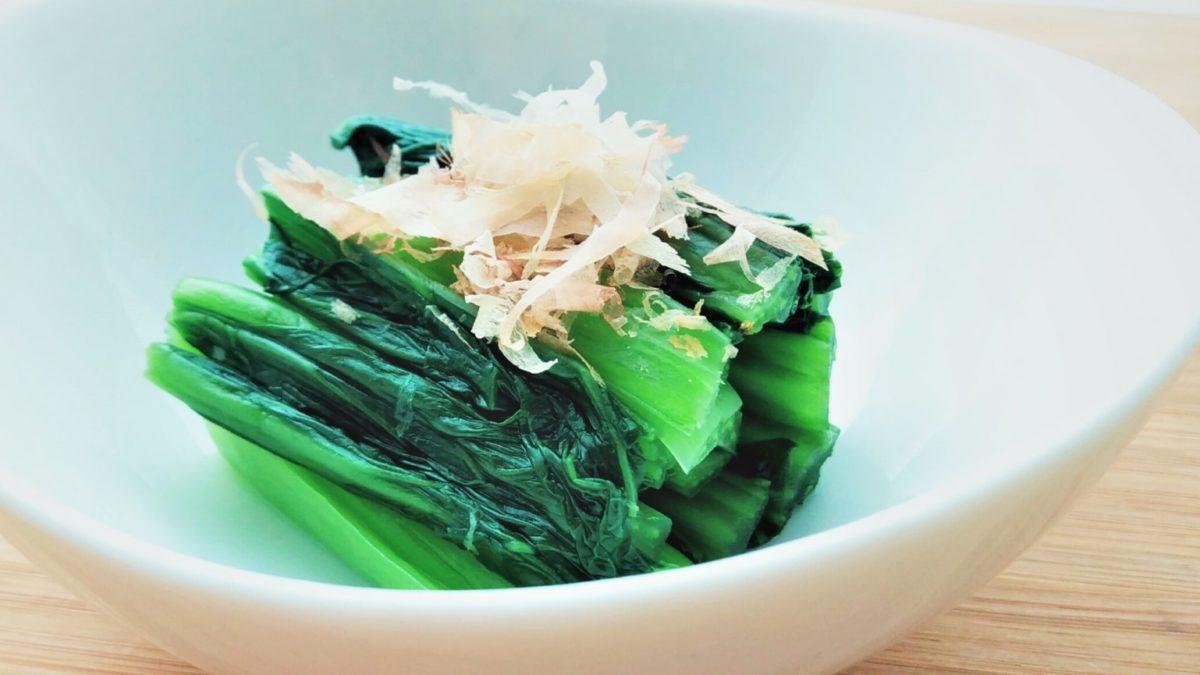 ヒルナンデスのだし解凍で冷凍小松菜のおひたしレシピ