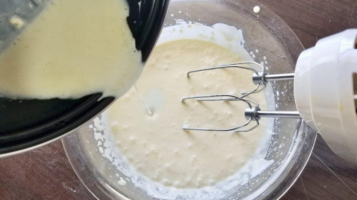 チーズケーキの作り方(工程5)