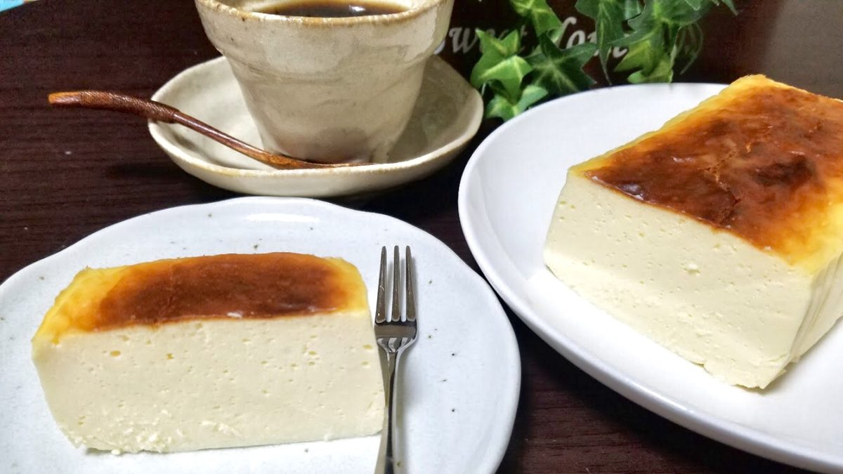 チーズケーキの完成画像
