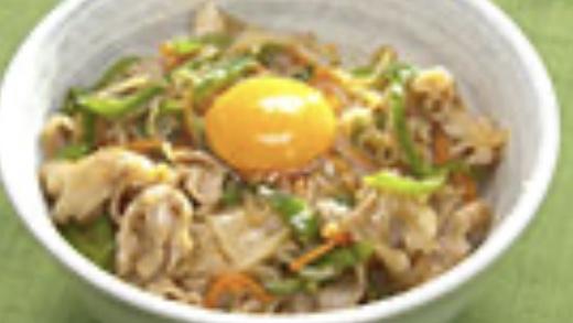 激うまチャプチェ丼のレシピ