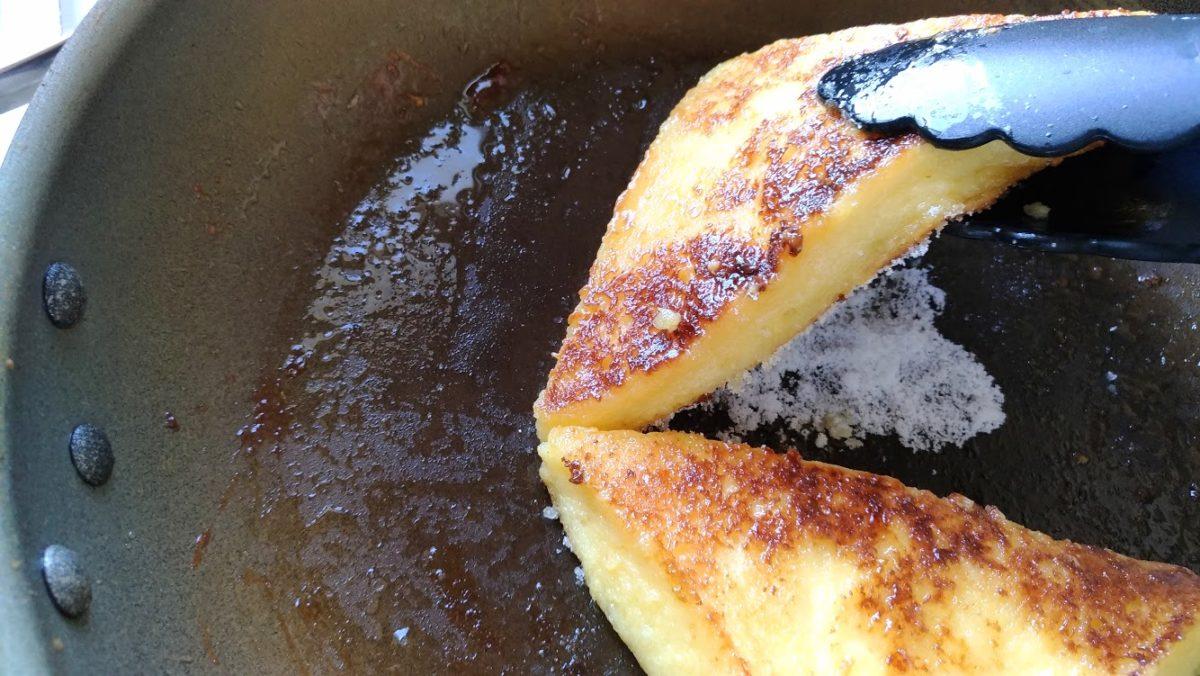 フレンチトーストの作り方(工程4)