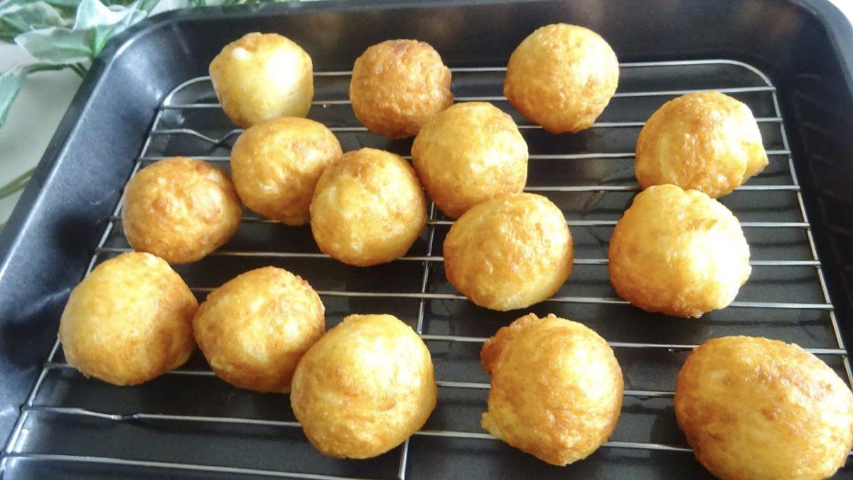 切り餅ドーナツの作り方(工程5)