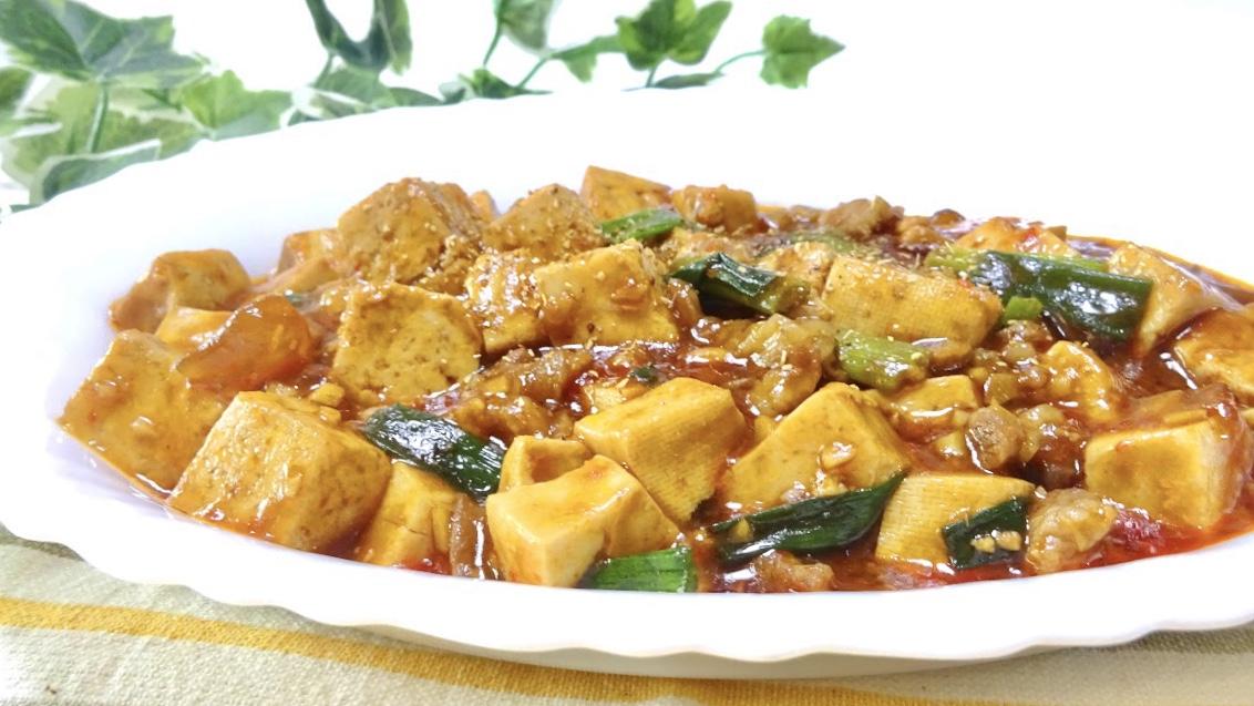 黄金比率の麻婆豆腐