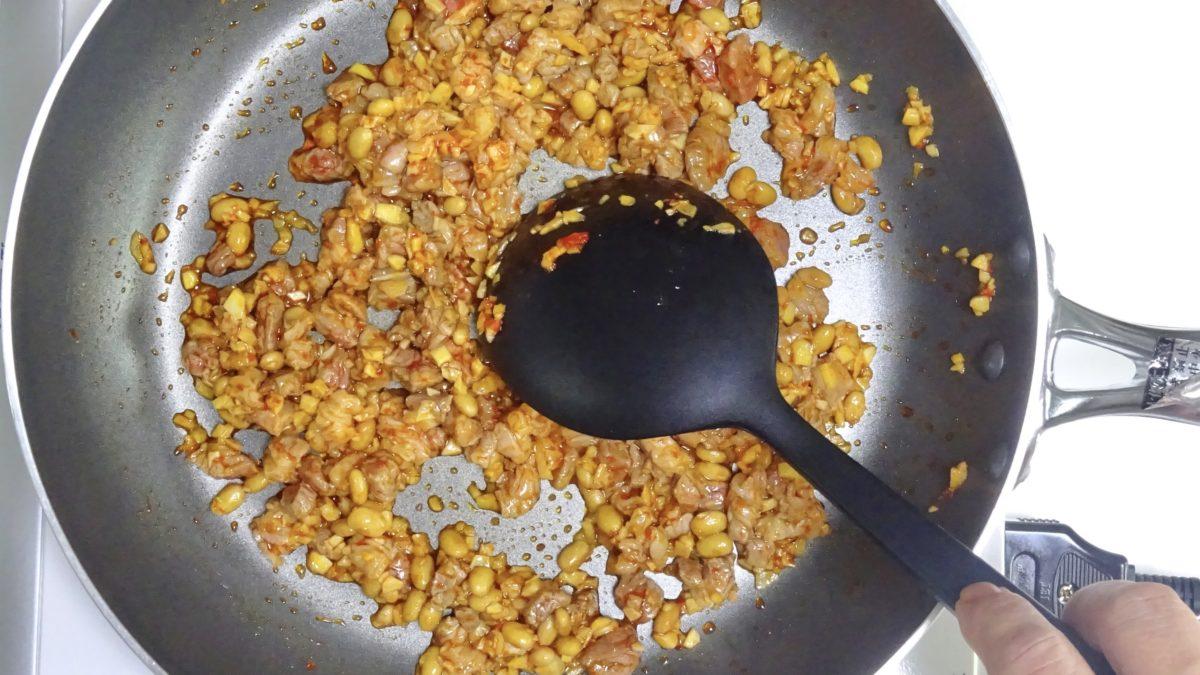 黄金比率の麻婆豆腐の作り方(工程6)