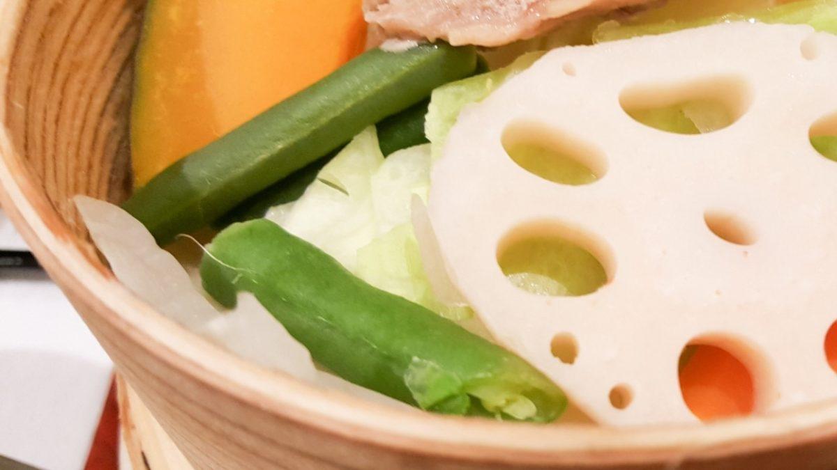 あさイチの野菜蒸しレシピ