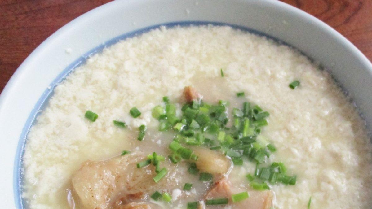 教えてもらう前と後のツナ缶おぼろ豆腐レシピ