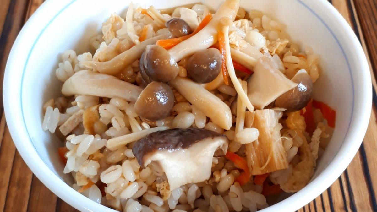 メレンゲの気持ちの下味冷凍で炊き込みご飯レシピ