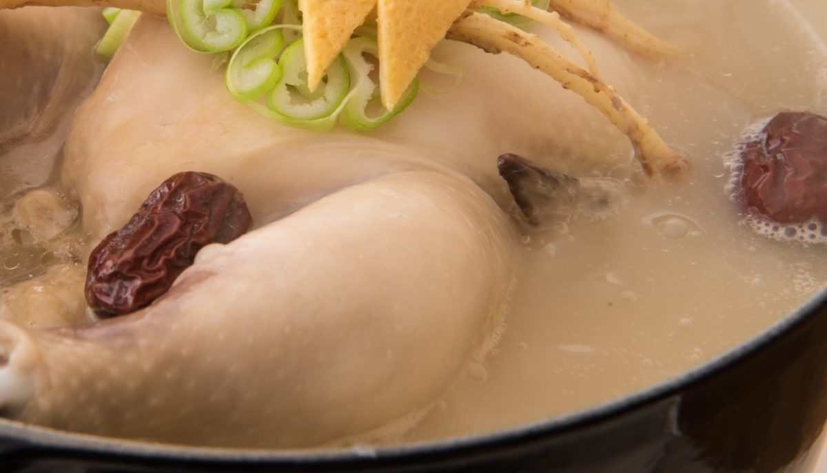あさイチのサムゲタン風煮込みレシピ