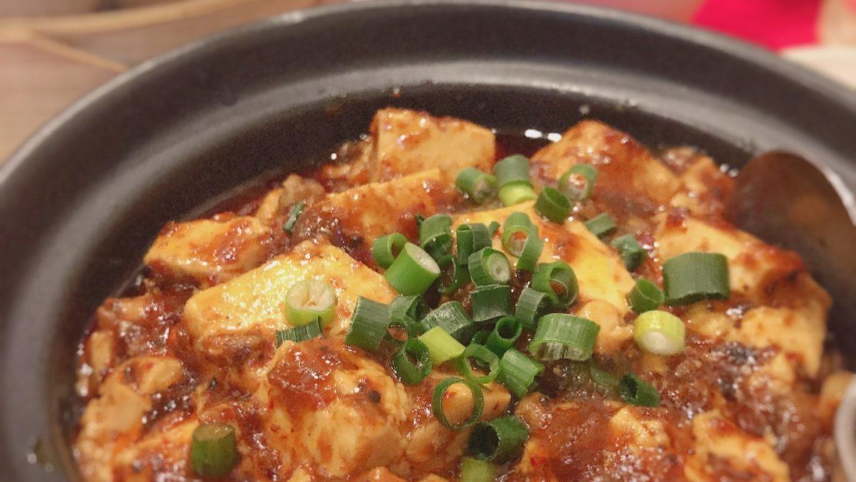 あさイチのカップ麺スープで四川麻婆豆腐レシピ