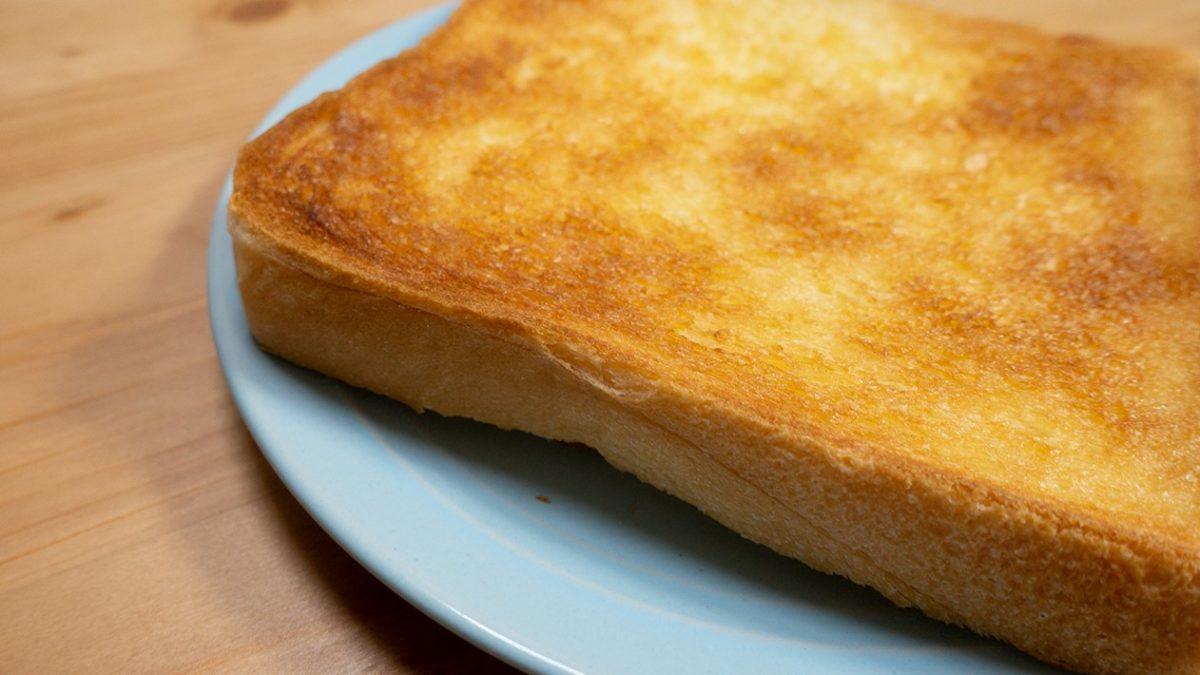 家事ヤロウのバタートーストレシピ