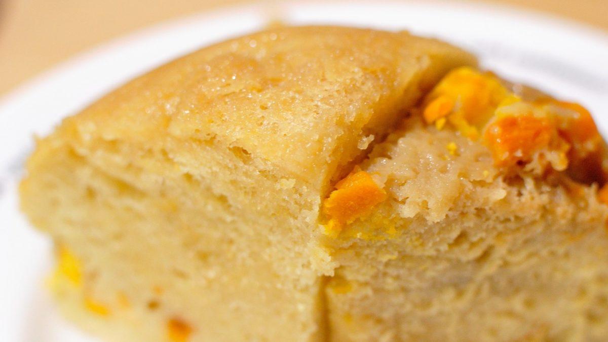 サタプラの炊飯器で黒糖バナナ蒸しパンレシピ