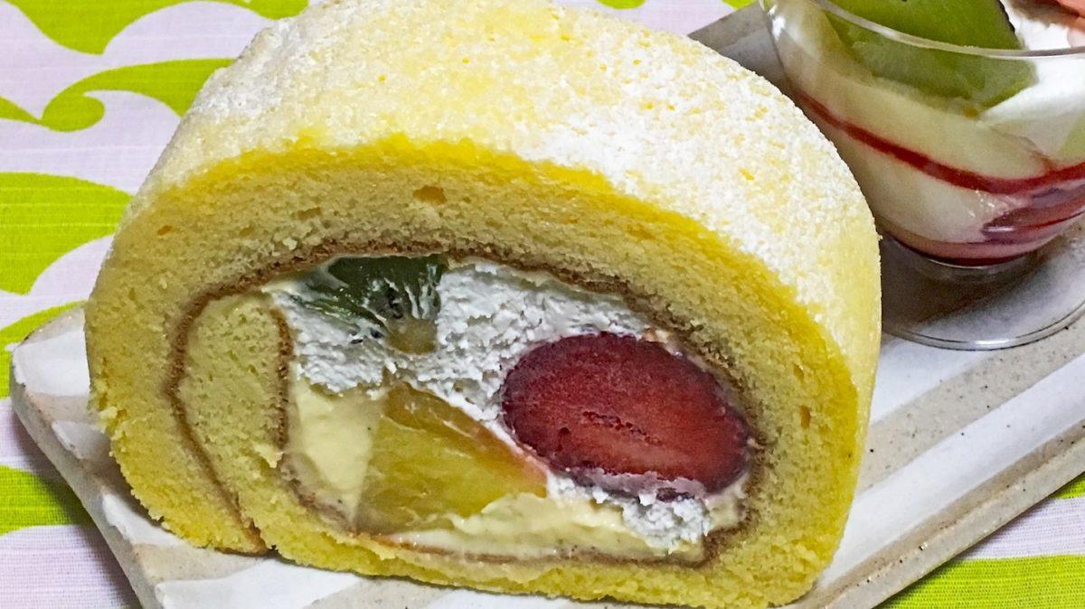 ジョブチューンのロールケーキレシピ
