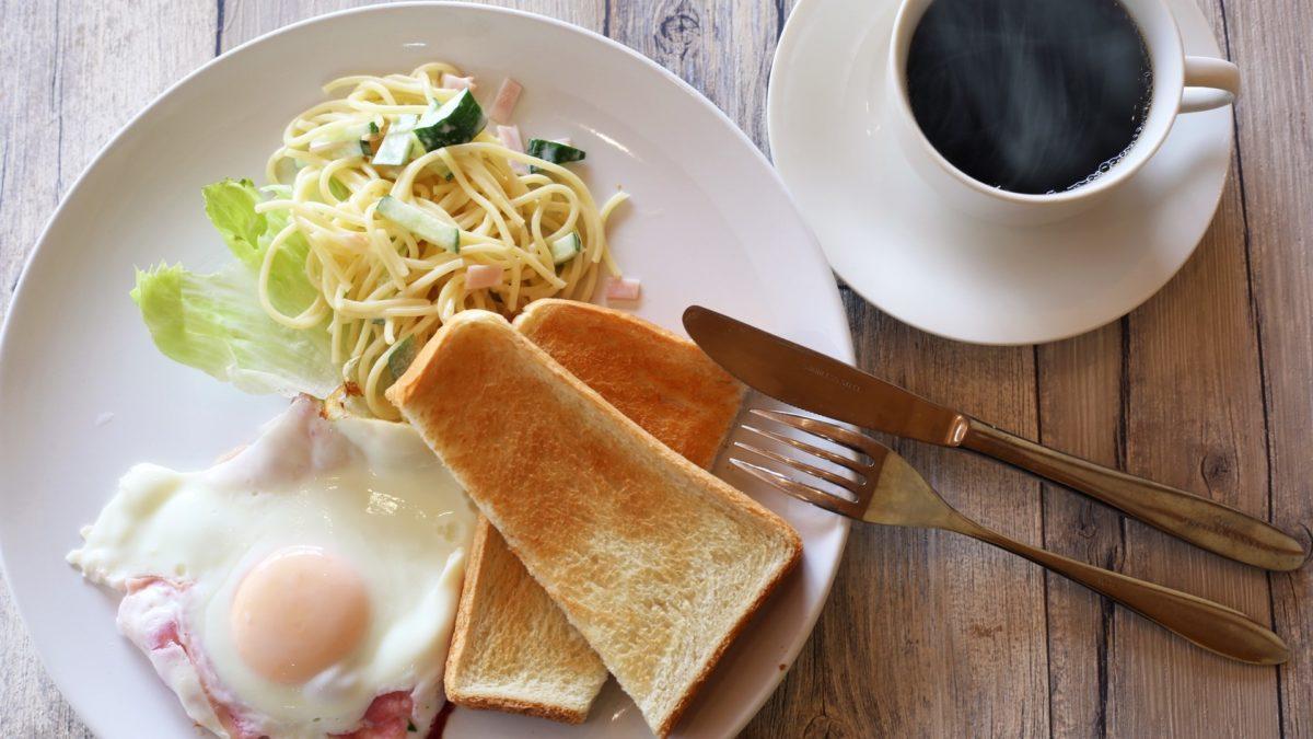 教えてもらう前と後の朝ごはんレシピ