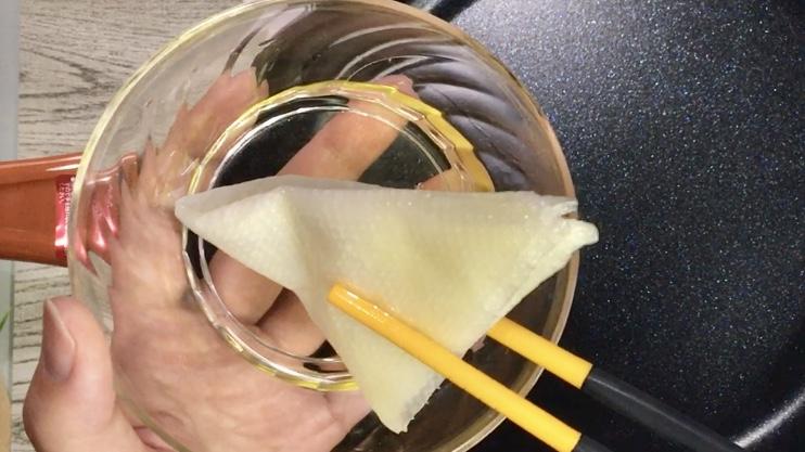 バウムクーヘンの作り方(工程2)