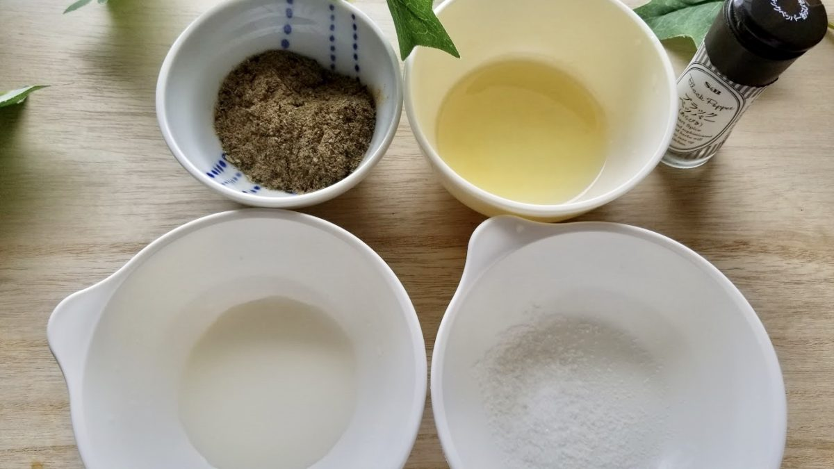 やせる出汁で冷製パスタの作り方(工程5-1)