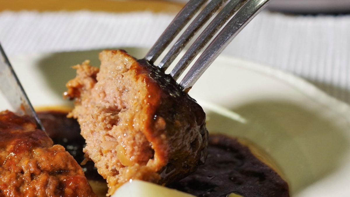 沸騰ワードのふわふわハンバーグレシピ
