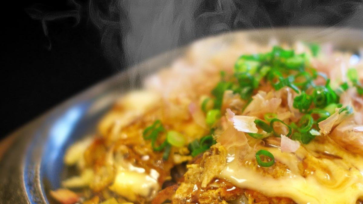 あさイチのオクラでお好み焼きレシピ