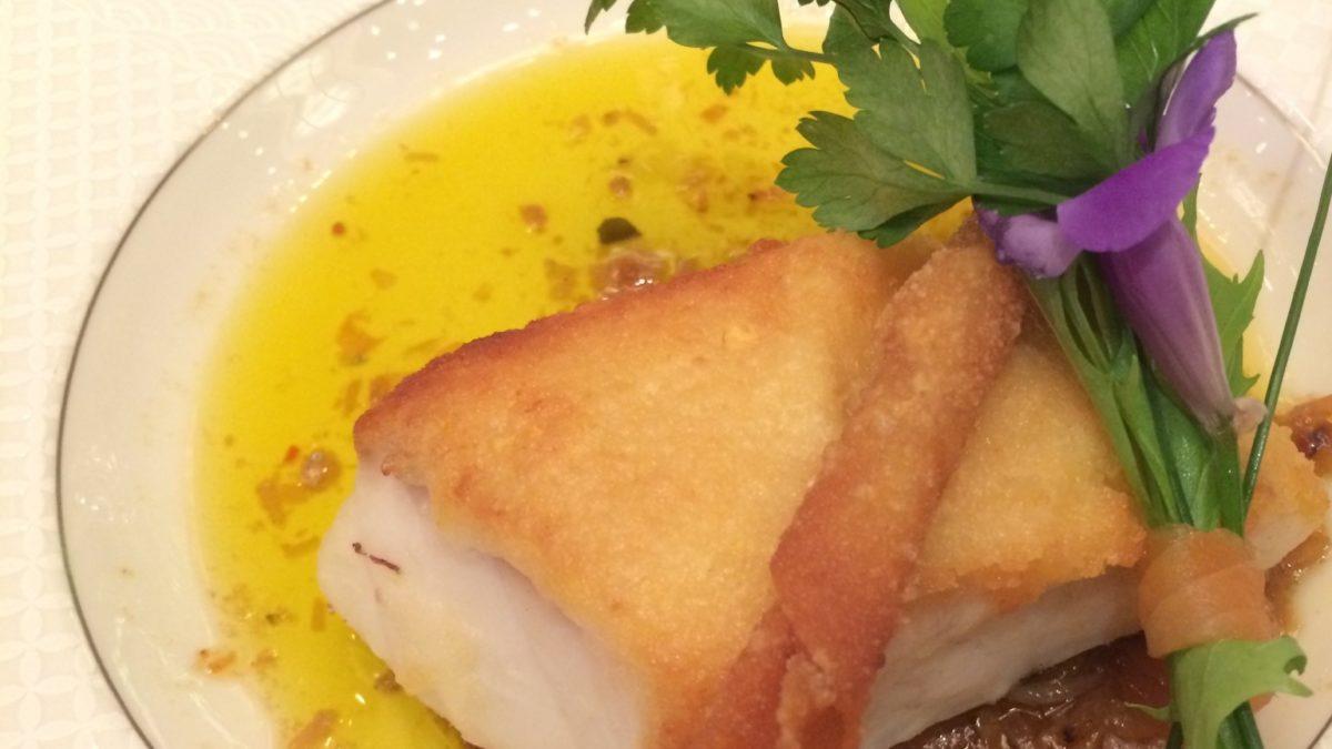 沸騰ワードの白身魚のムース