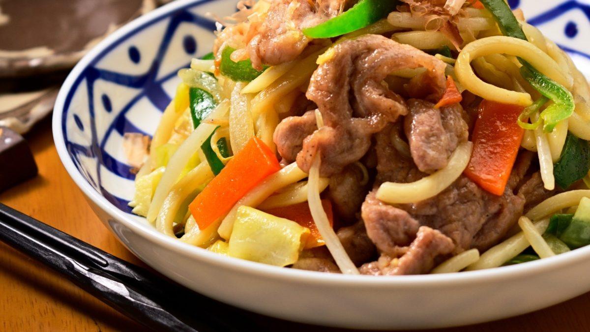 ヒルナンデスの韓国風うどんレシピ