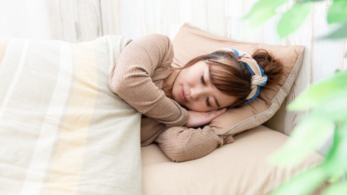 教えてもらう前と後の睡眠用たわし枕