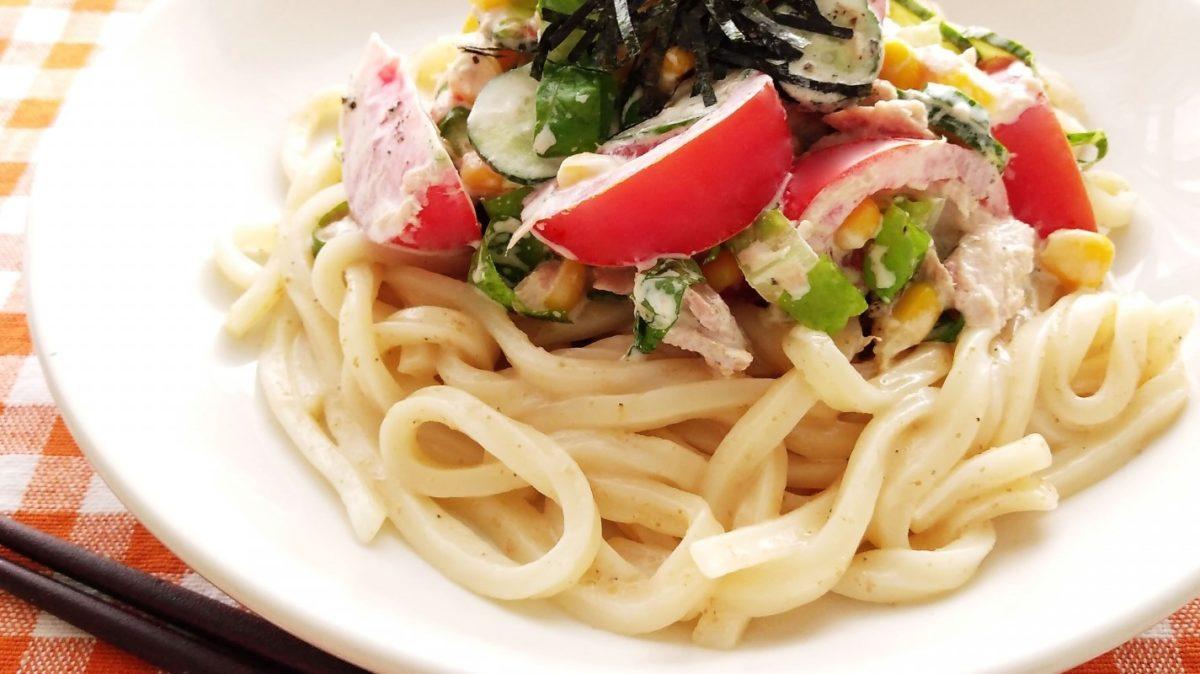 あさイチのトマト冷製うどんレシピ