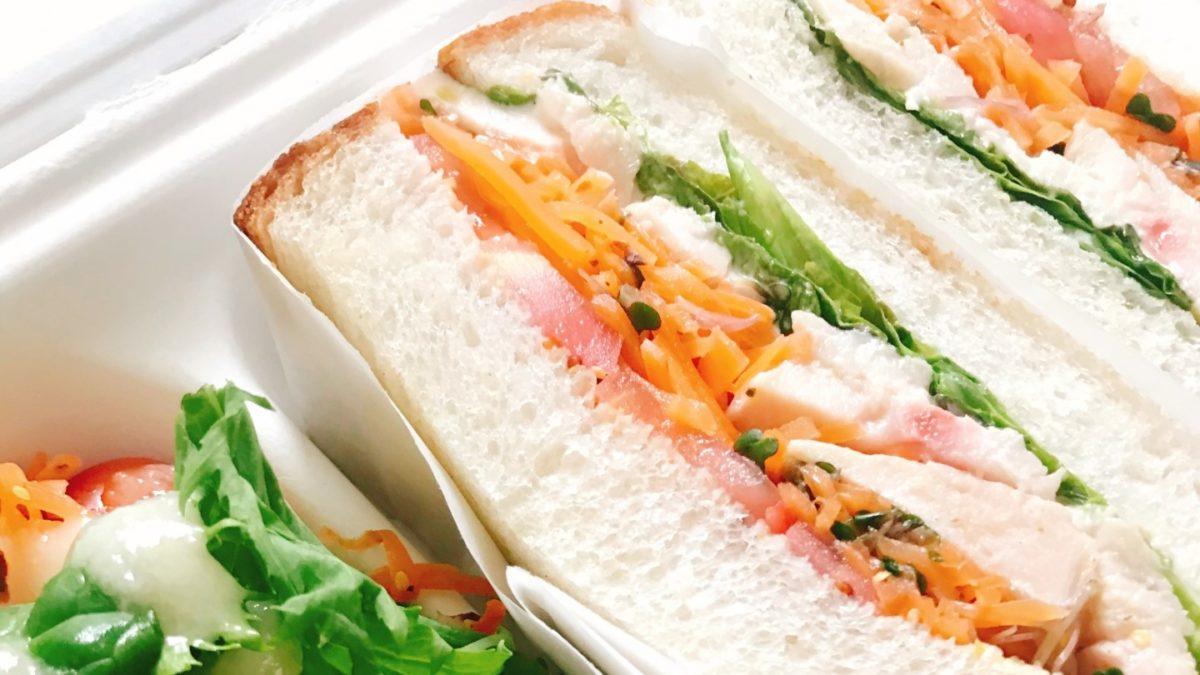 教えてもらう前と後の吉野家の牛丼サンドイッチレシピ