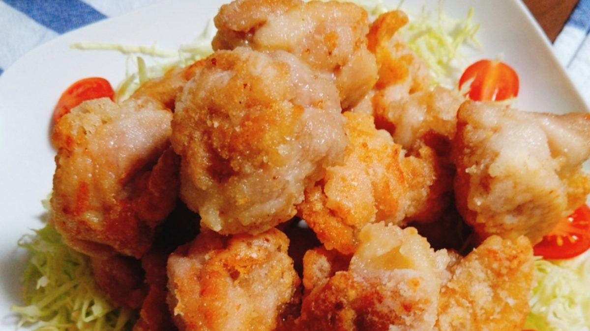 土曜は何するの冷凍豆腐の唐揚げレシピ