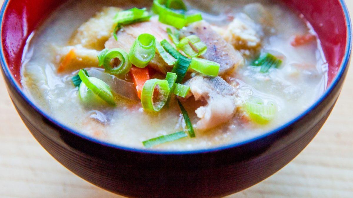 あさイチの豚肉の梅とろろ汁レシピ