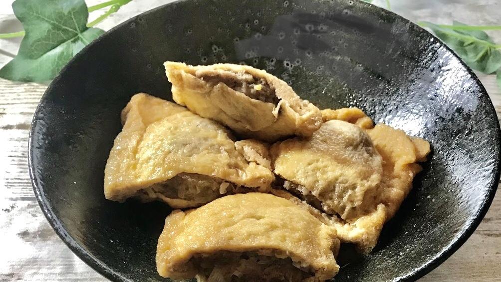 ヒルナンデスのリュウジの低糖質肉詰めいなりレシピ
