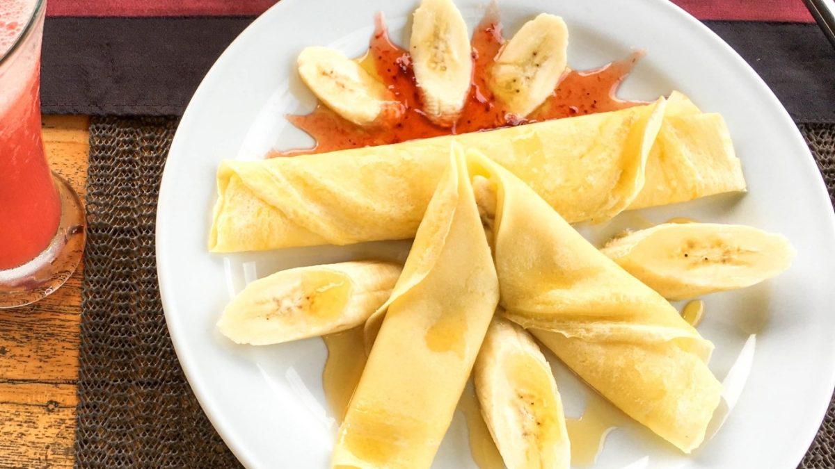 サタプラのホットプレートでバナナクレープレシピ