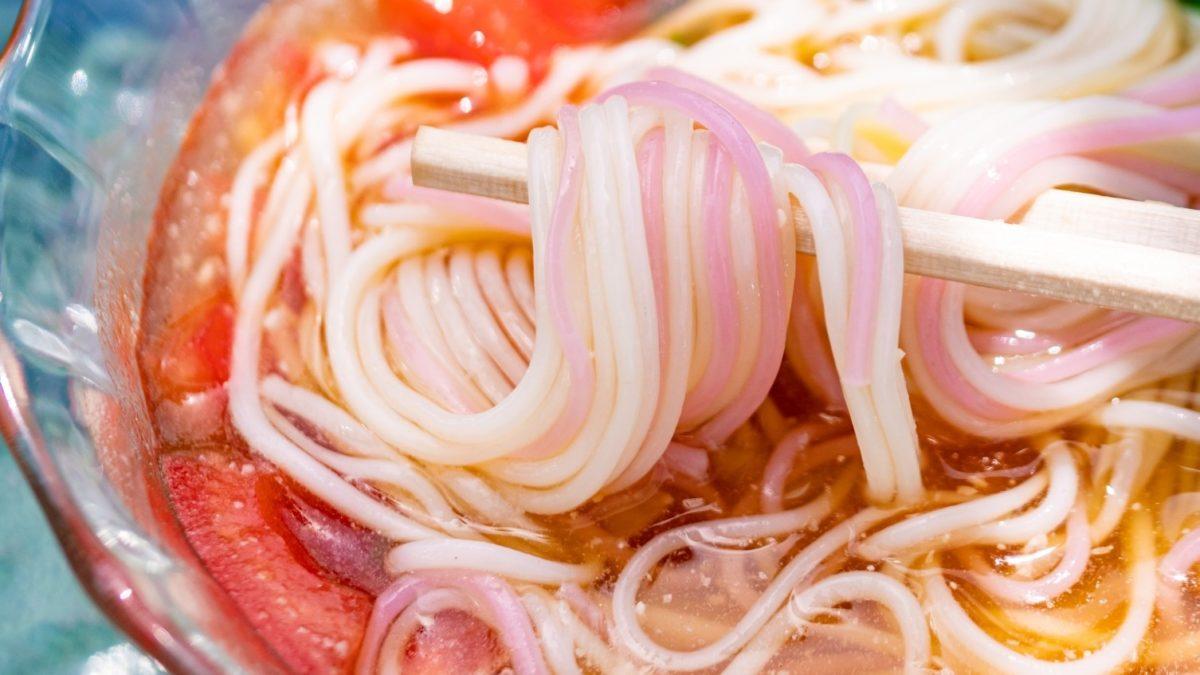 ヒルナンデスのすりおろしトマトそうめんレシピ