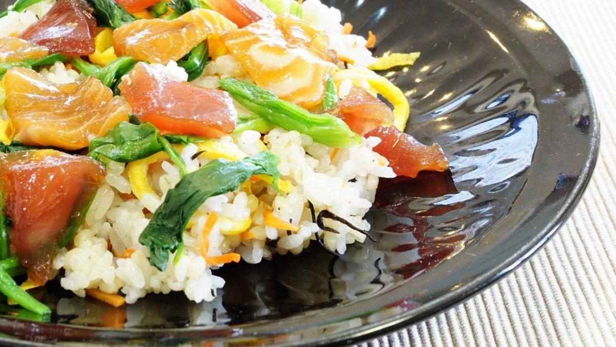 【ごごナマ】夏野菜のサラダ寿司