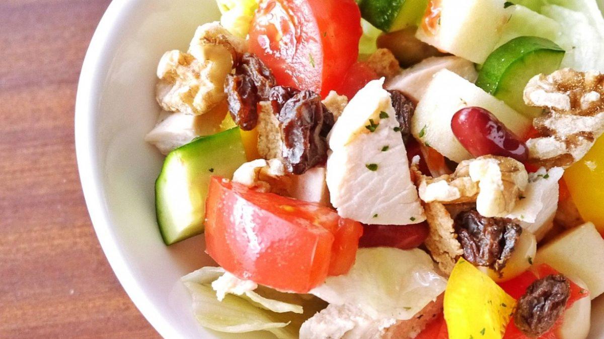 【世界一受けたい授業】パワーサラダ「鶏もも肉とじゃがいも」の作り方