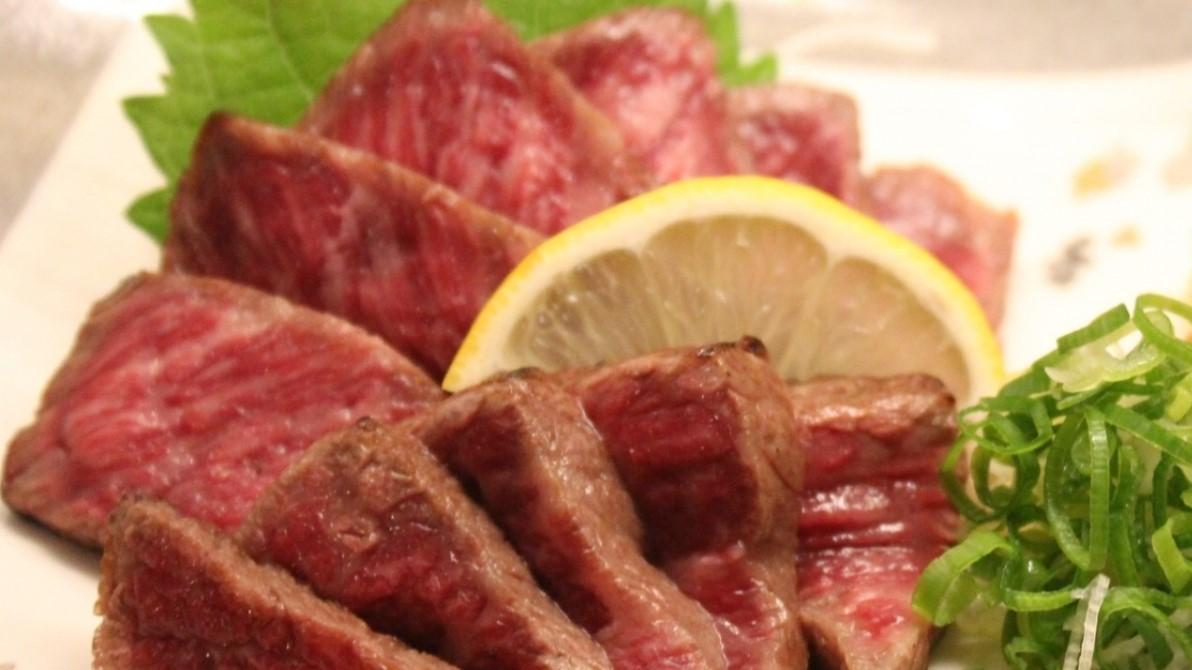 ソクラテスのため息の牛肉のたたき