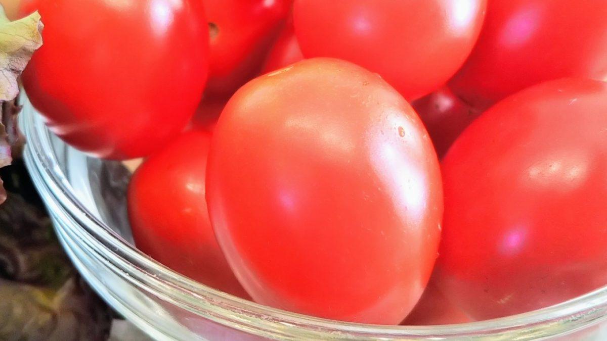 【あさイチ】ミニトマトの塩昆布漬け