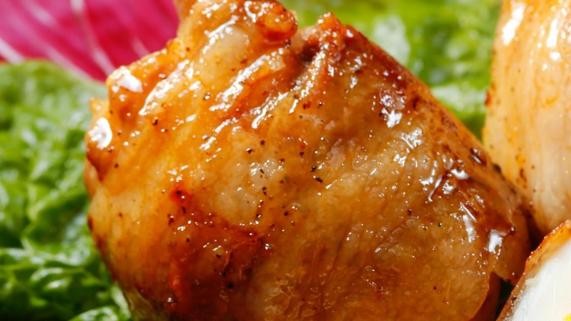 【あさイチ】牛肉と油揚げでくるくる巻き煮
