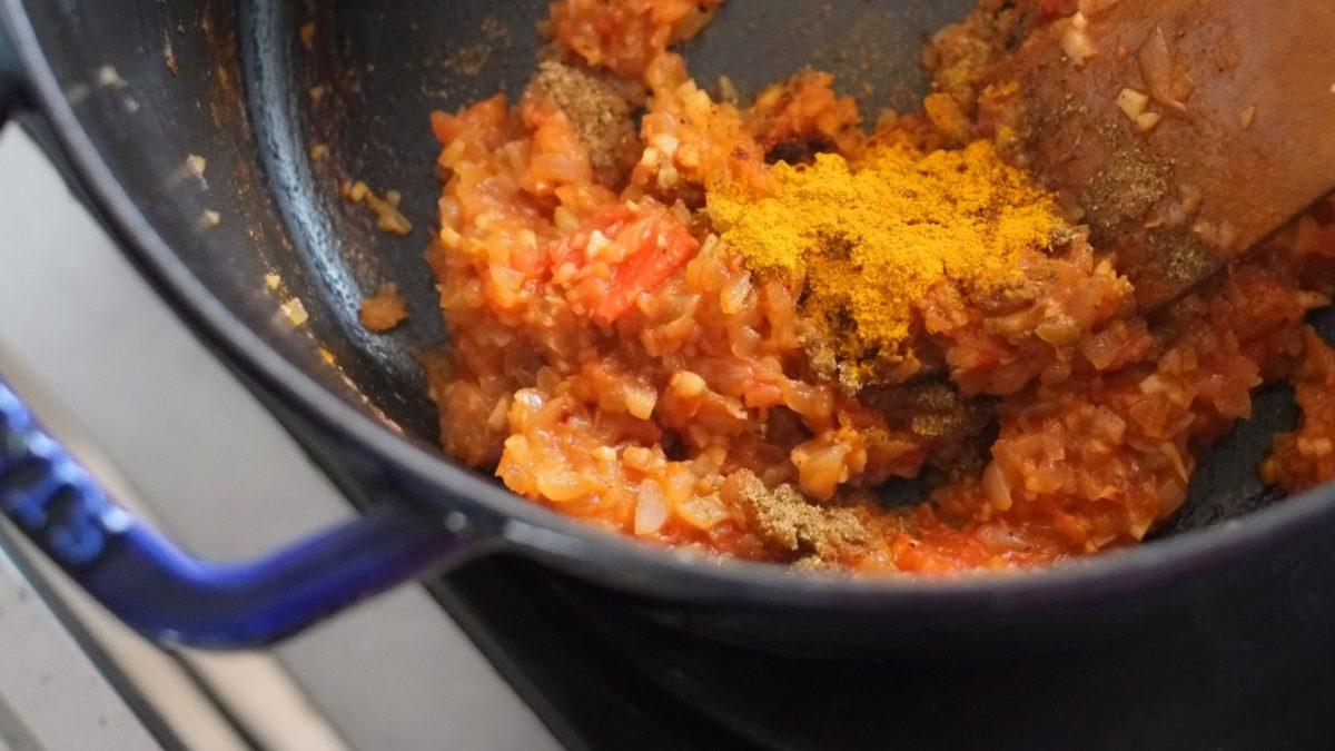 スパイスカレーの素グレイビーレシピ